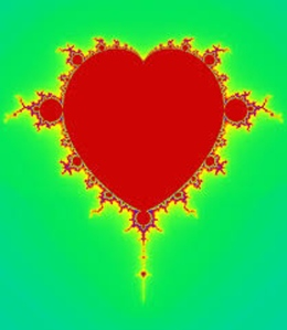 mandelbrot heart